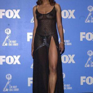 Aisha Tyler red carpet dress