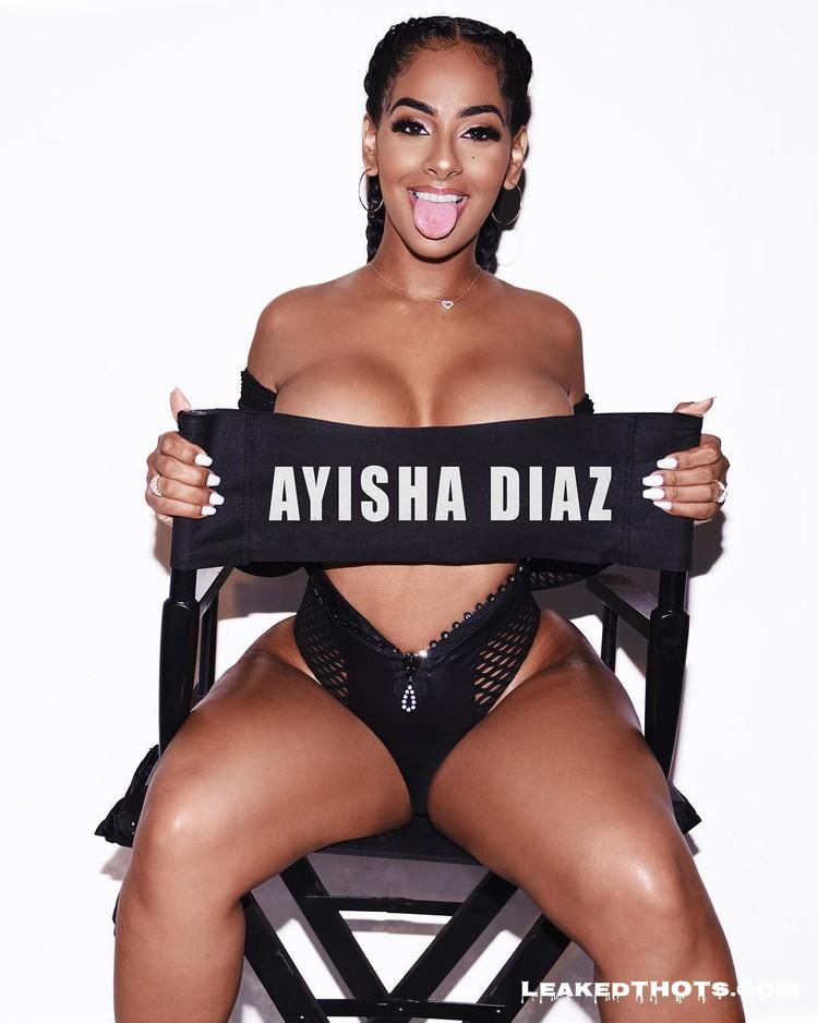 Ayisha Diaz no top
