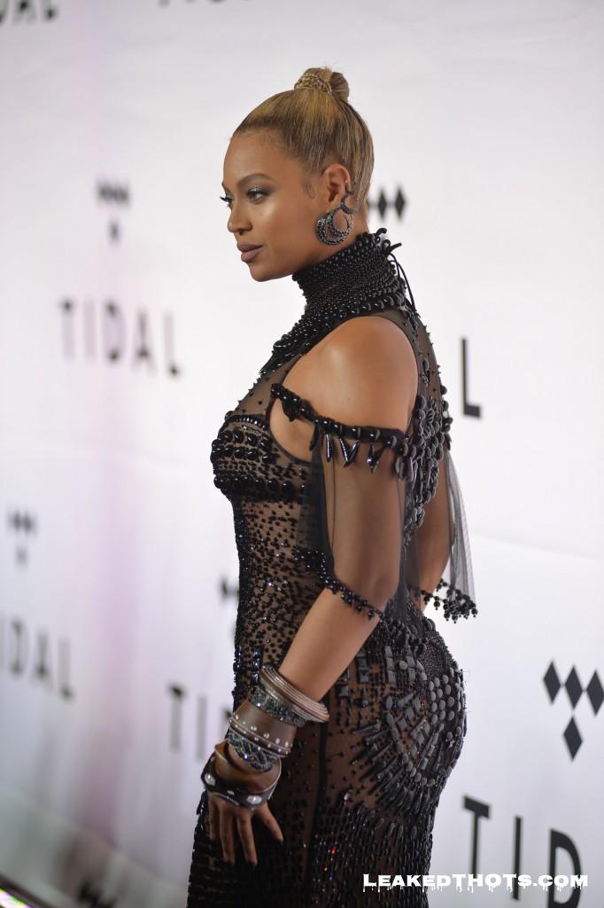 Beyoncé nice tits Tidal