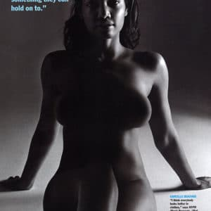 Garcelle Beauvais black and white naked