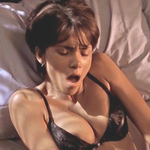 Halle Berry cumming