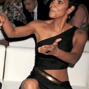 Halle Berry upskirt leak