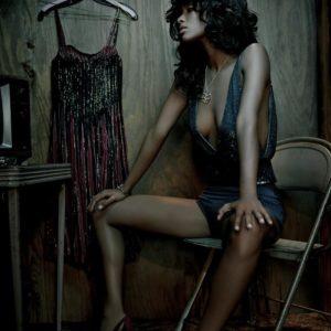 Joy Bryant lingerie in Complex