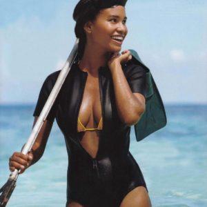 Joy Bryant revealing bikini