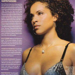 Karyn Parsons natural tits