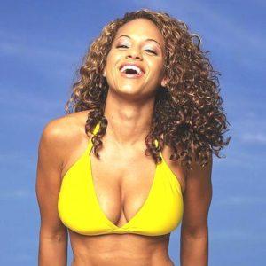 Leila Arcieri yellow bikini