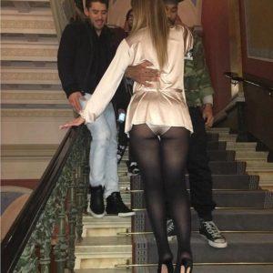 Mariah Carey upskirt booty