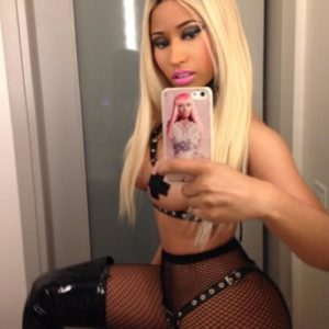 Nicki Minaj tape pasties
