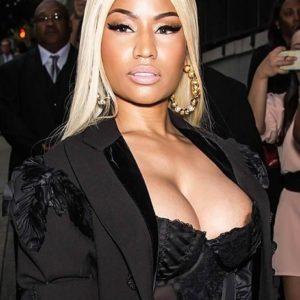 Nicki Minaj accidental slip