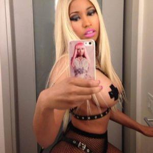 Nicki Minaj undressed