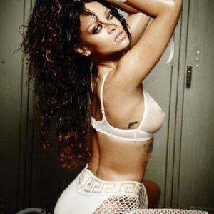 Rihanna big tits