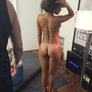 Rihanna bare butt