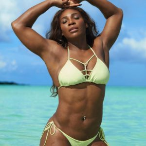 Serena Williams abs in SI