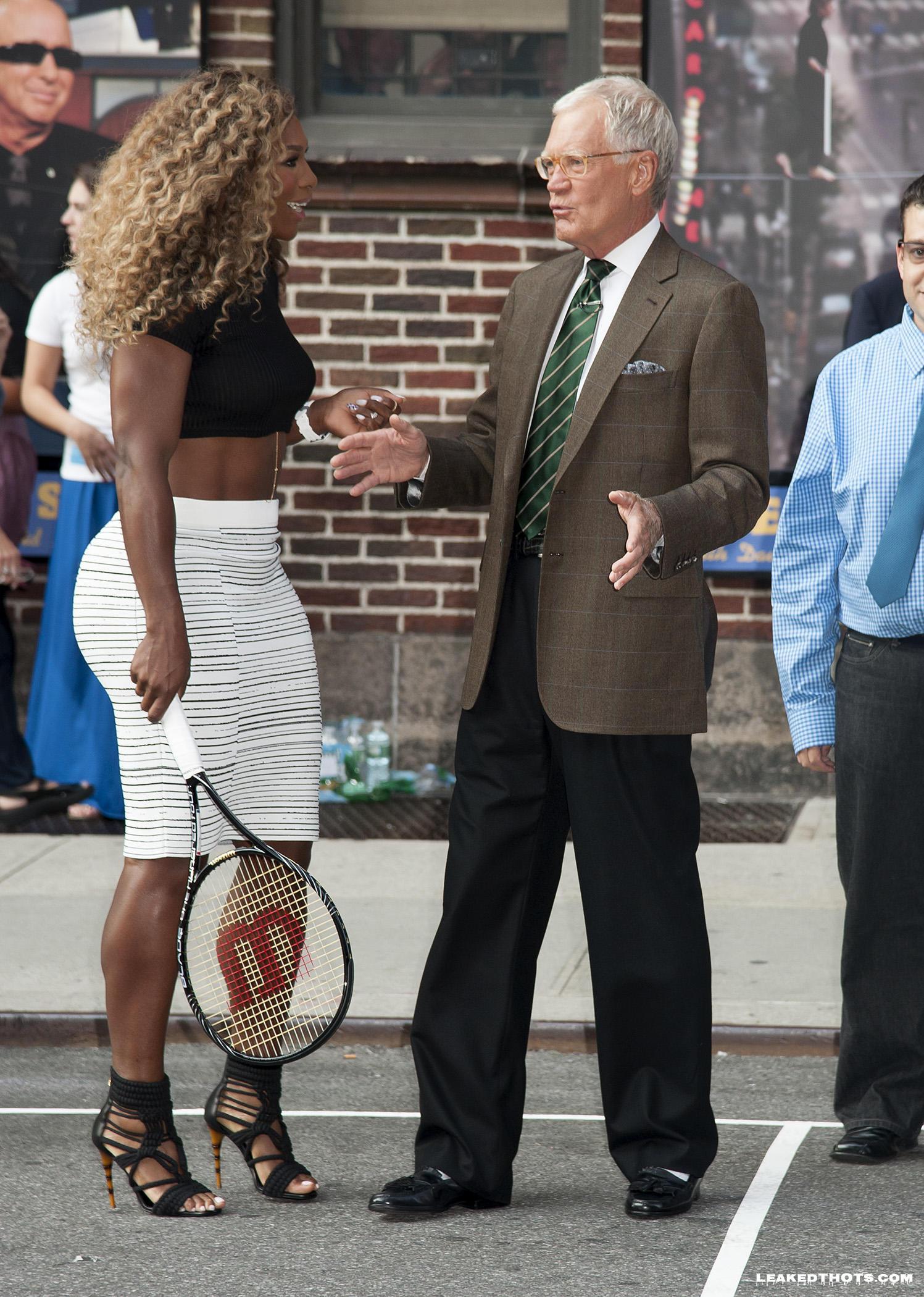 Serena Williams black booty