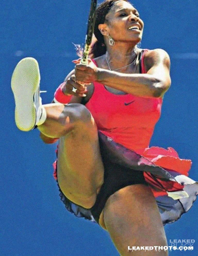 Serena Williams pussy lip slip