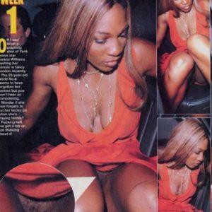 Serena Williams paparazzi oops