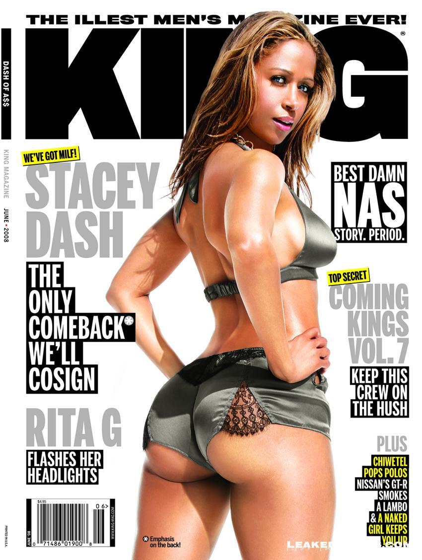 Stacey Dash King magazine cover