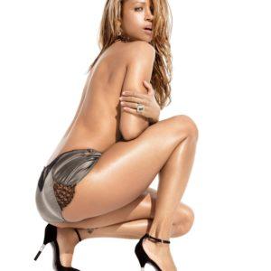 Stacey Dash panties and high heels