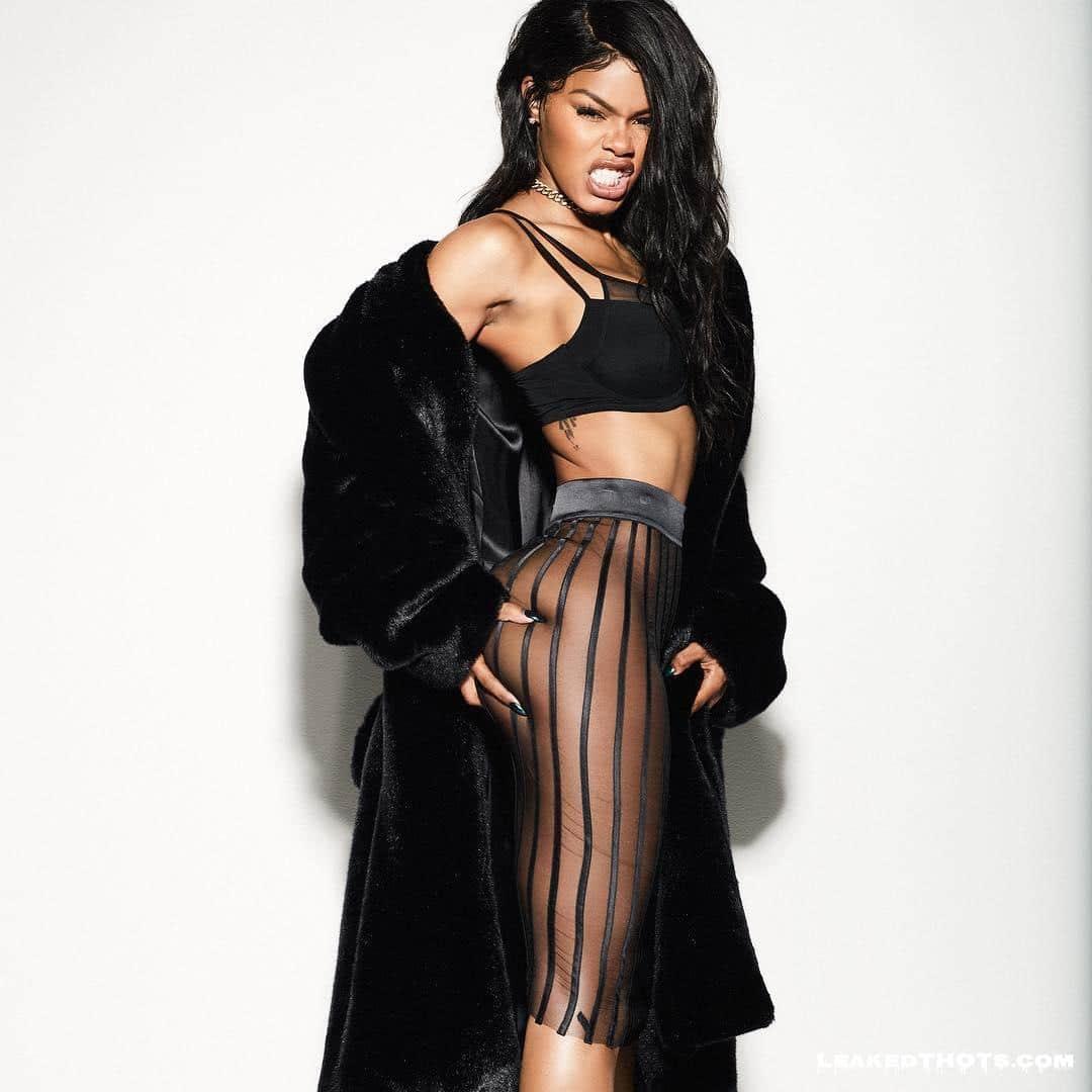 Teyana Taylor nice tits