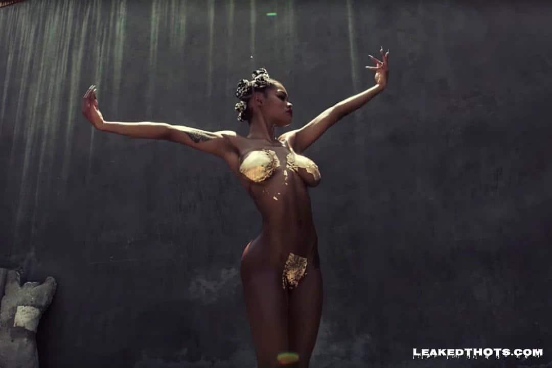 Teyana Taylor sexy naked