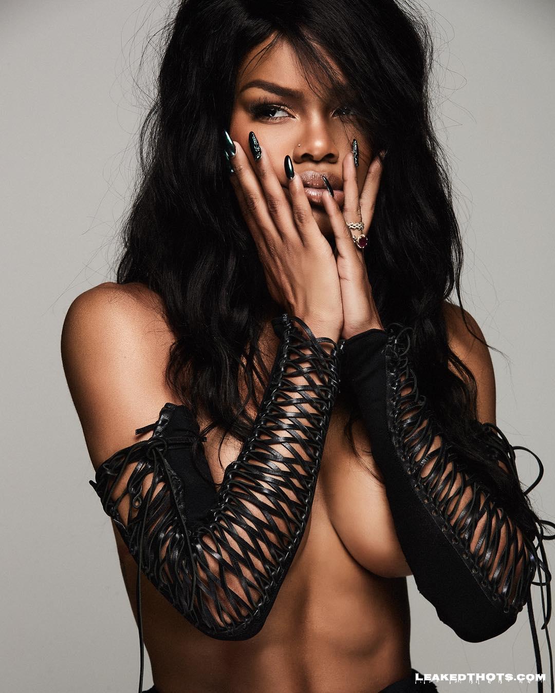 Teyana Taylor sexy nude
