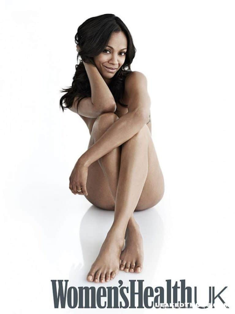 Zoe Saldana for Womens Health UK