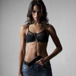 Zoe Saldana photoshoot